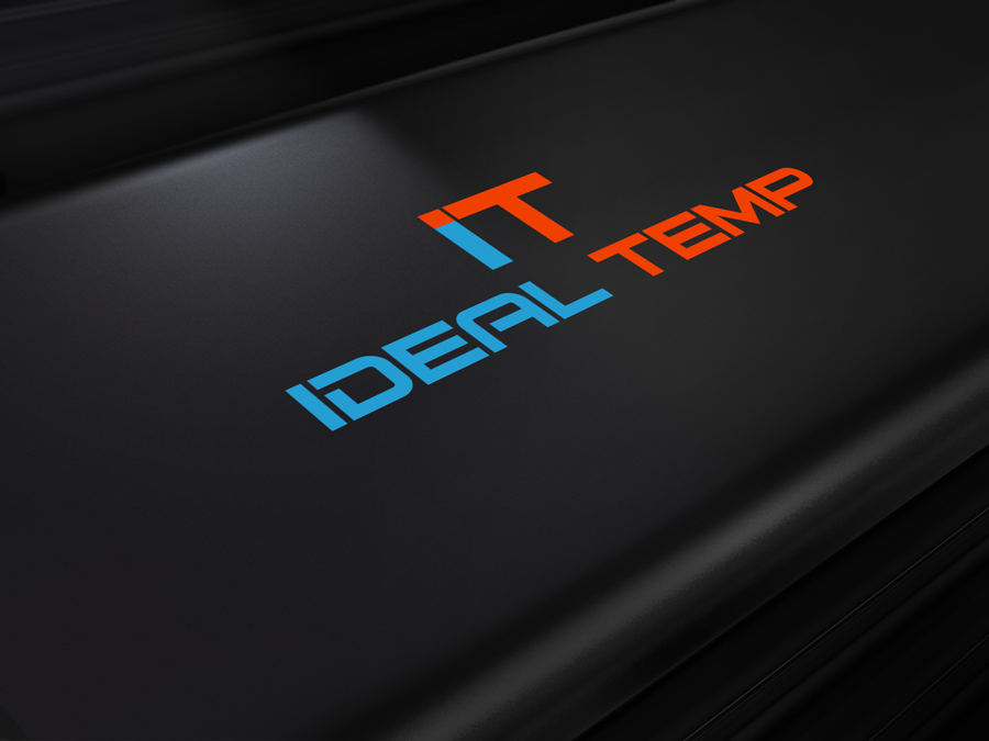 Logo Design by Abdur Rahman - Entry No. 137 in the Logo Design Contest Captivating Logo Design for Ideal Temp.