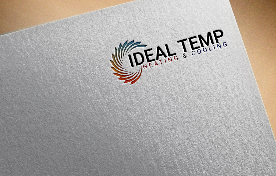 Logo Design by Magic Tools - Entry No. 138 in the Logo Design Contest Captivating Logo Design for Ideal Temp.