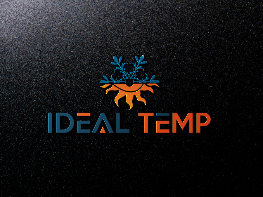 Logo Design by Abdur Rahman - Entry No. 139 in the Logo Design Contest Captivating Logo Design for Ideal Temp.
