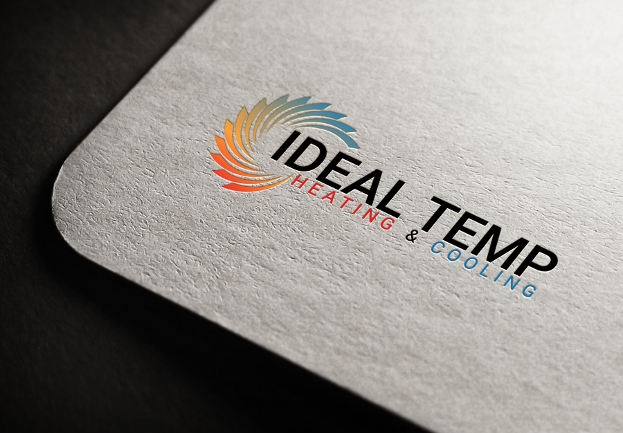 Logo Design by Magic Tools - Entry No. 140 in the Logo Design Contest Captivating Logo Design for Ideal Temp.