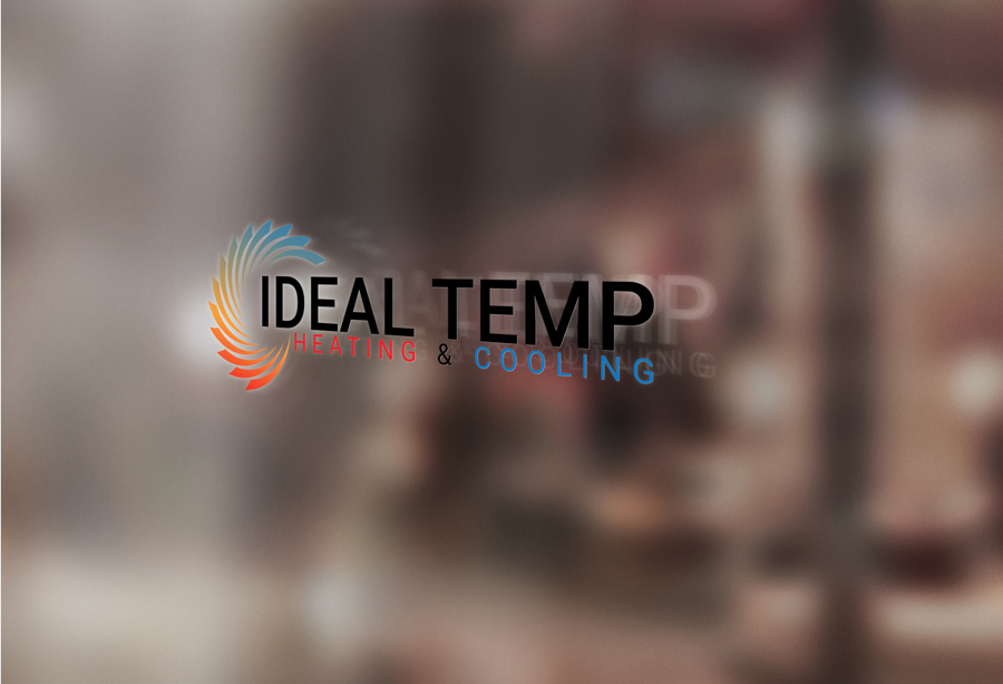 Logo Design by Magic Tools - Entry No. 141 in the Logo Design Contest Captivating Logo Design for Ideal Temp.