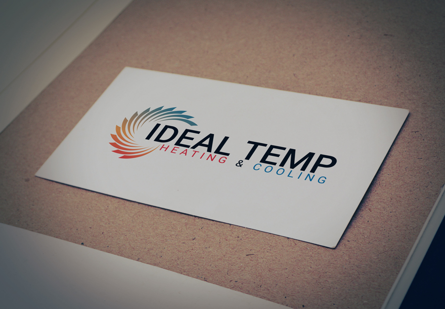 Logo Design by Magic Tools - Entry No. 142 in the Logo Design Contest Captivating Logo Design for Ideal Temp.