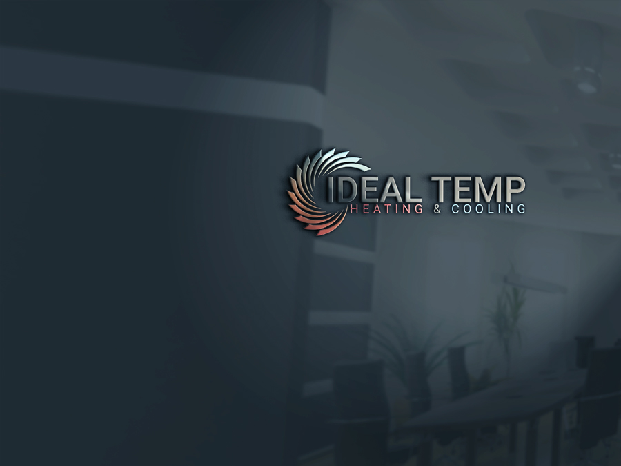 Logo Design by Magic Tools - Entry No. 143 in the Logo Design Contest Captivating Logo Design for Ideal Temp.