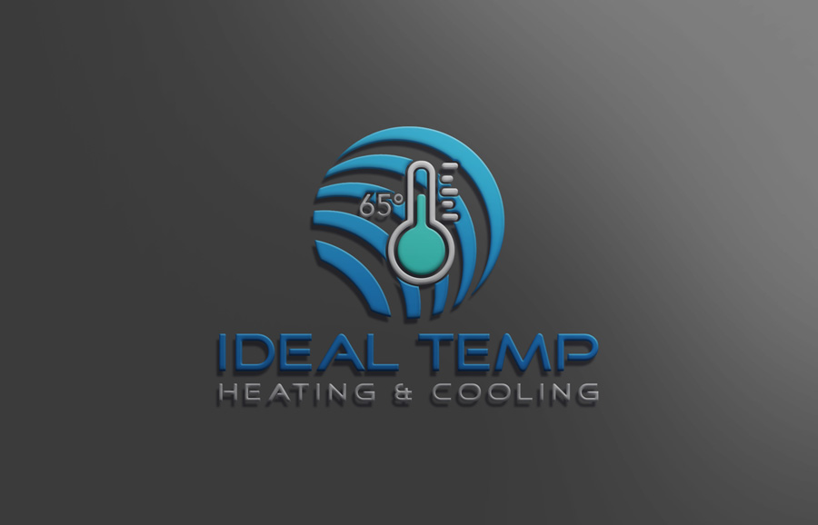 Logo Design by Neon Mirza shakib - Entry No. 144 in the Logo Design Contest Captivating Logo Design for Ideal Temp.