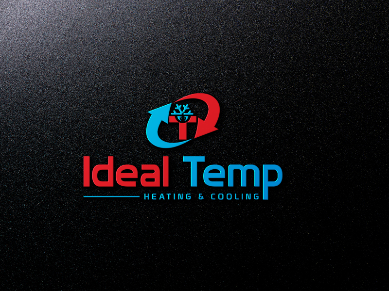 Logo Design by MAlamgir Hossain - Entry No. 151 in the Logo Design Contest Captivating Logo Design for Ideal Temp.