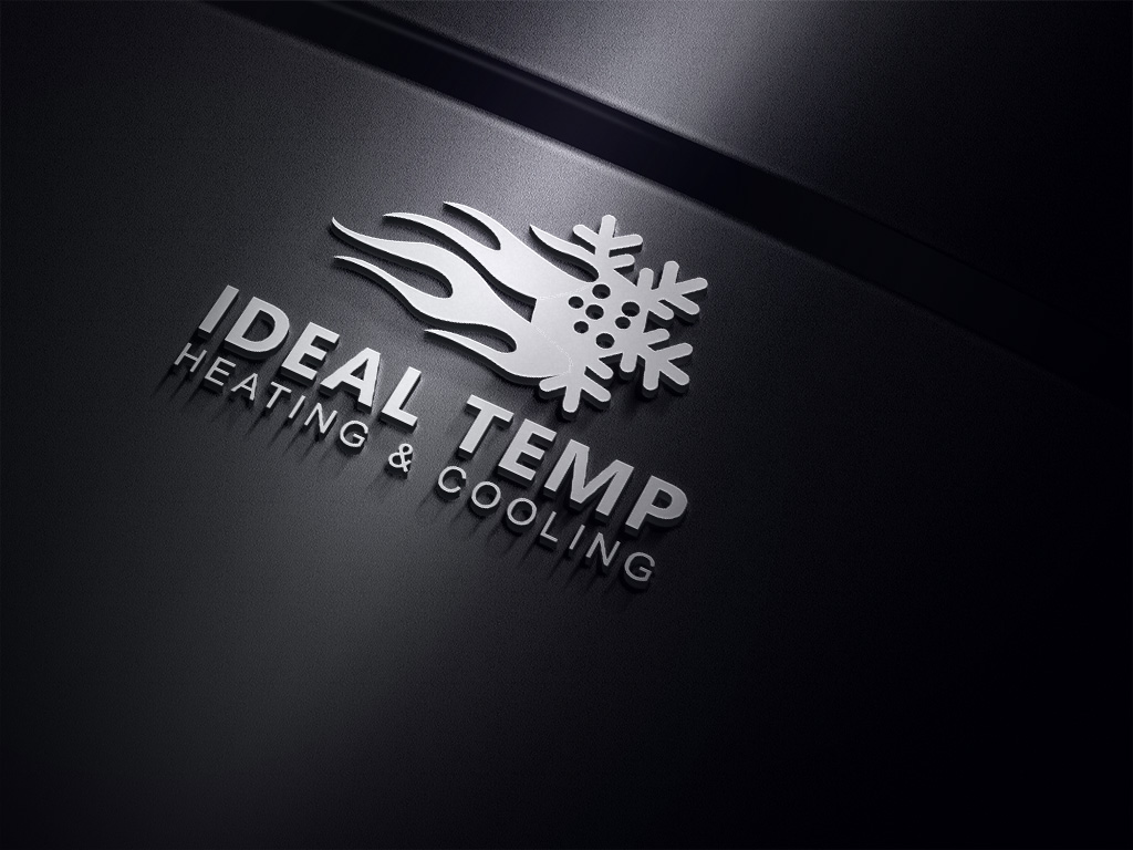 Logo Design by Kamal Hossain - Entry No. 152 in the Logo Design Contest Captivating Logo Design for Ideal Temp.