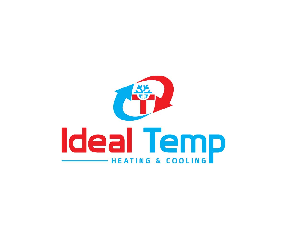 Logo Design by MAlamgir Hossain - Entry No. 153 in the Logo Design Contest Captivating Logo Design for Ideal Temp.