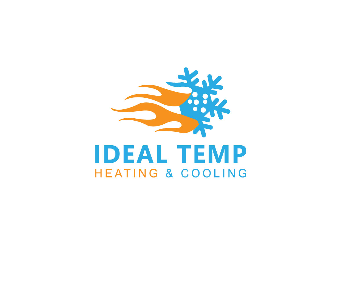 Logo Design by Kamal Hossain - Entry No. 154 in the Logo Design Contest Captivating Logo Design for Ideal Temp.