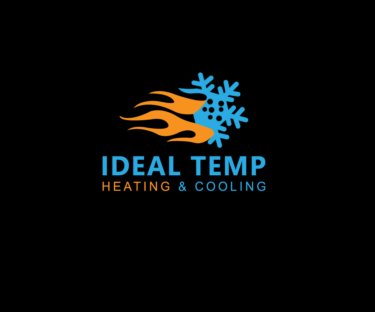 Logo Design by Kamal Hossain - Entry No. 157 in the Logo Design Contest Captivating Logo Design for Ideal Temp.