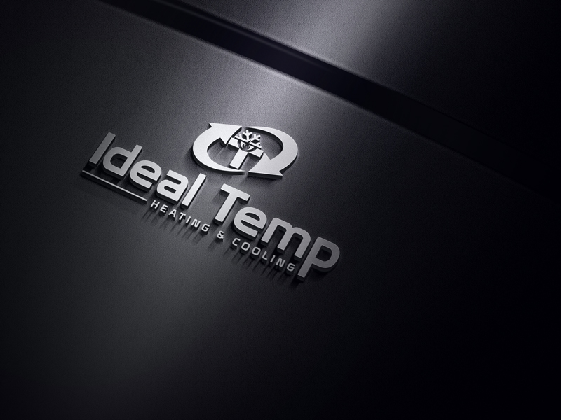 Logo Design by MAlamgir Hossain - Entry No. 159 in the Logo Design Contest Captivating Logo Design for Ideal Temp.