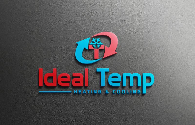 Logo Design by MAlamgir Hossain - Entry No. 160 in the Logo Design Contest Captivating Logo Design for Ideal Temp.