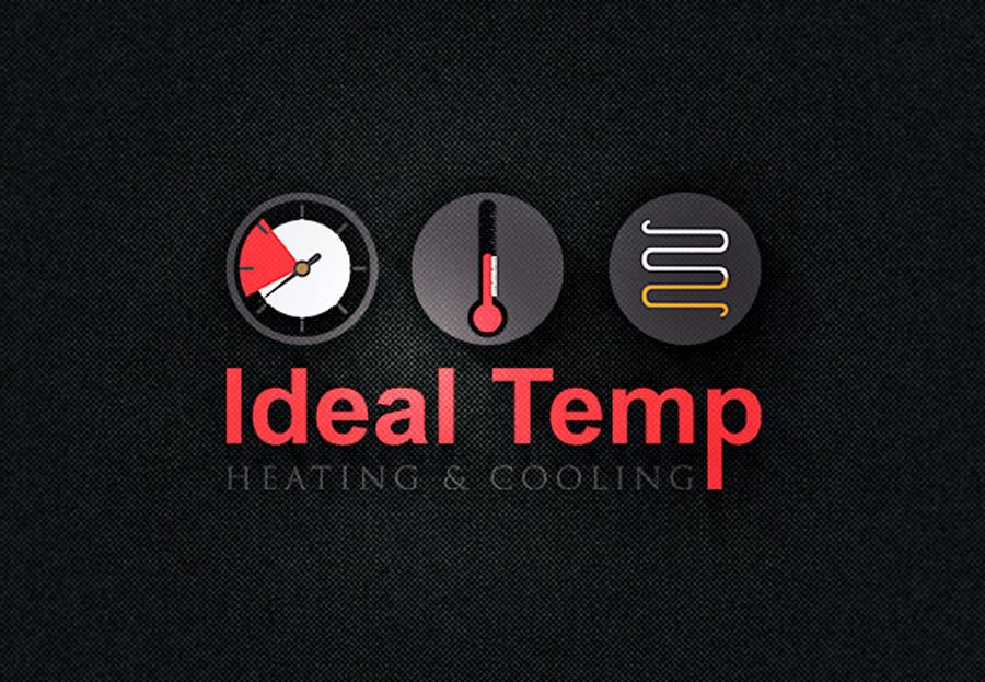 Logo Design by Neon Mirza shakib - Entry No. 161 in the Logo Design Contest Captivating Logo Design for Ideal Temp.