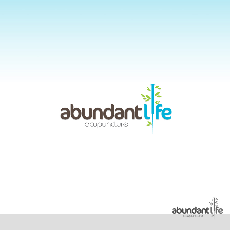Logo Design by rockpinoy - Entry No. 125 in the Logo Design Contest abundant life acupuncture.