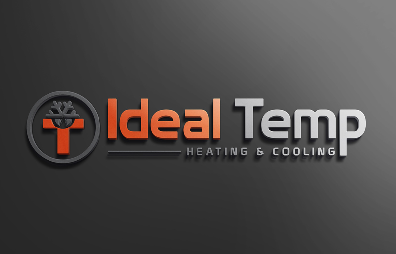 Logo Design by MAlamgir Hossain - Entry No. 167 in the Logo Design Contest Captivating Logo Design for Ideal Temp.