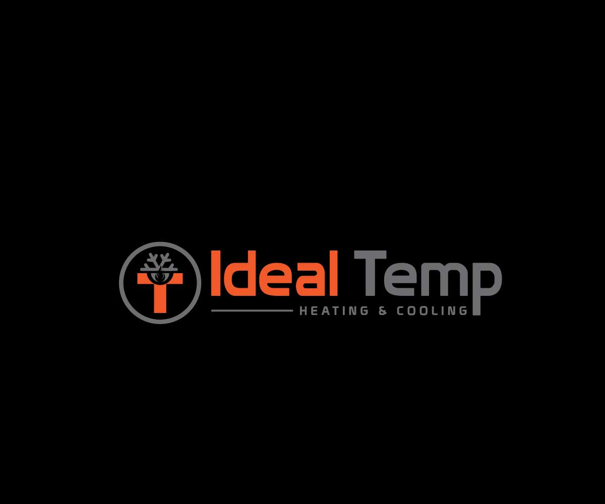 Logo Design by MAlamgir Hossain - Entry No. 169 in the Logo Design Contest Captivating Logo Design for Ideal Temp.