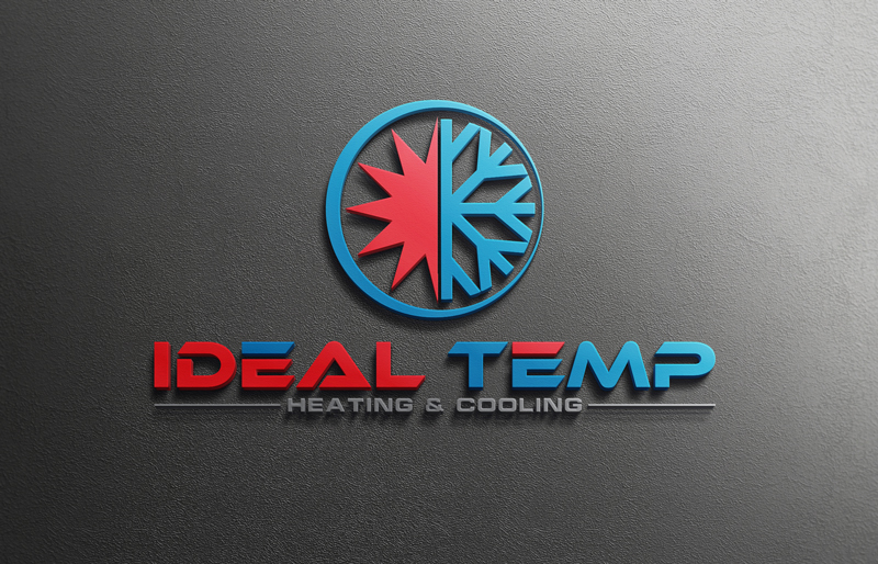 Logo Design by Riday Hassan - Entry No. 171 in the Logo Design Contest Captivating Logo Design for Ideal Temp.