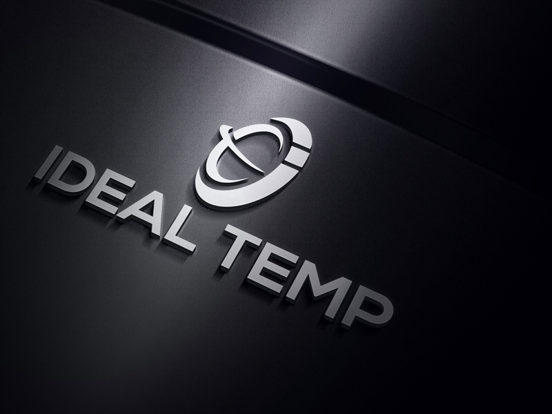 Logo Design by Sinthiya Omar - Entry No. 173 in the Logo Design Contest Captivating Logo Design for Ideal Temp.
