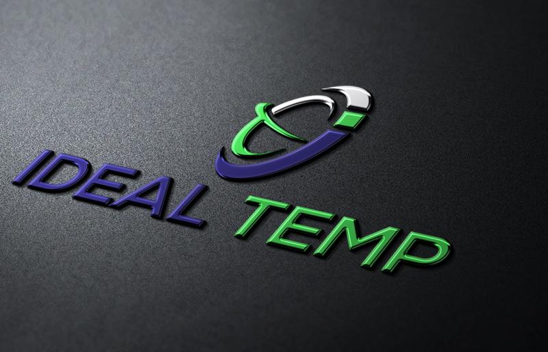 Logo Design by Sinthiya Omar - Entry No. 176 in the Logo Design Contest Captivating Logo Design for Ideal Temp.