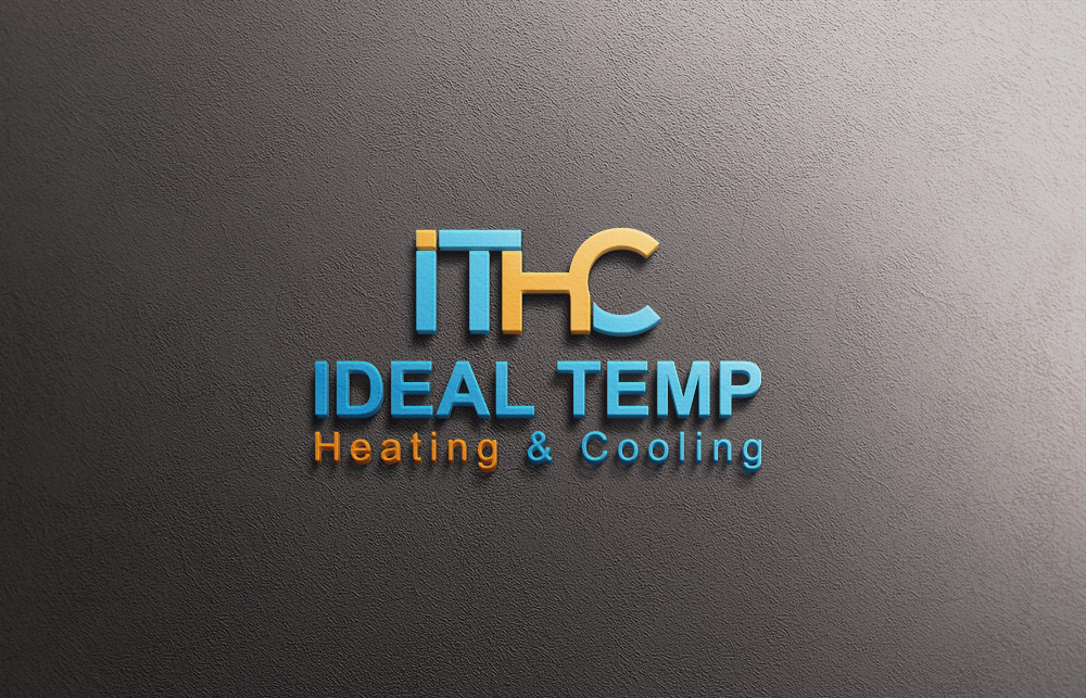 Logo Design by Kamal Hossain - Entry No. 178 in the Logo Design Contest Captivating Logo Design for Ideal Temp.