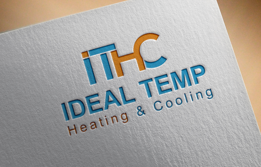 Logo Design by Kamal Hossain - Entry No. 179 in the Logo Design Contest Captivating Logo Design for Ideal Temp.