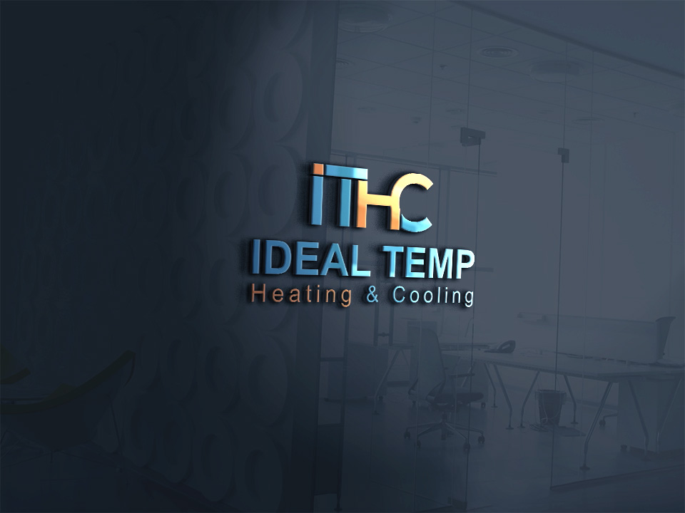 Logo Design by Kamal Hossain - Entry No. 180 in the Logo Design Contest Captivating Logo Design for Ideal Temp.
