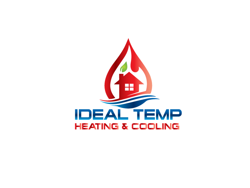 Logo Design by Private User - Entry No. 181 in the Logo Design Contest Captivating Logo Design for Ideal Temp.