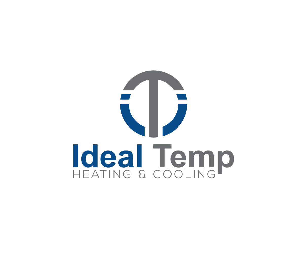 Logo Design by One Touch - Entry No. 183 in the Logo Design Contest Captivating Logo Design for Ideal Temp.
