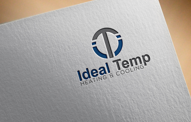 Logo Design by One Touch - Entry No. 184 in the Logo Design Contest Captivating Logo Design for Ideal Temp.
