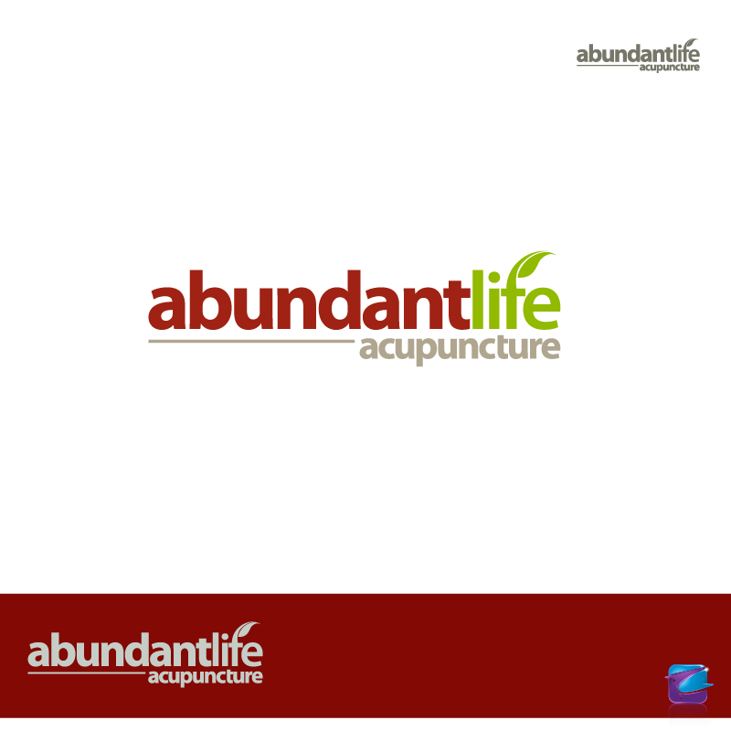 Logo Design by zesthar - Entry No. 128 in the Logo Design Contest abundant life acupuncture.