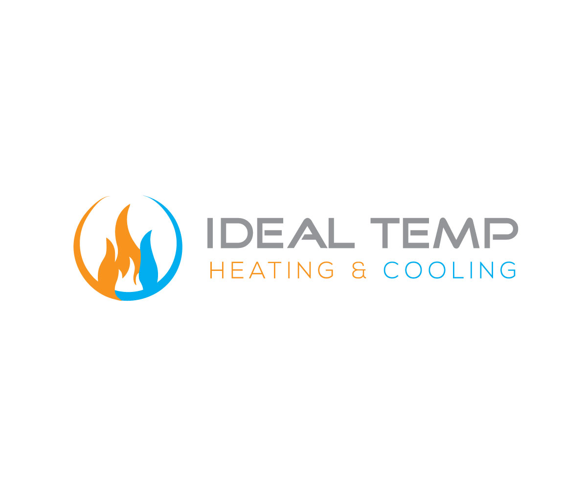 Logo Design by Mejba Hasan - Entry No. 203 in the Logo Design Contest Captivating Logo Design for Ideal Temp.