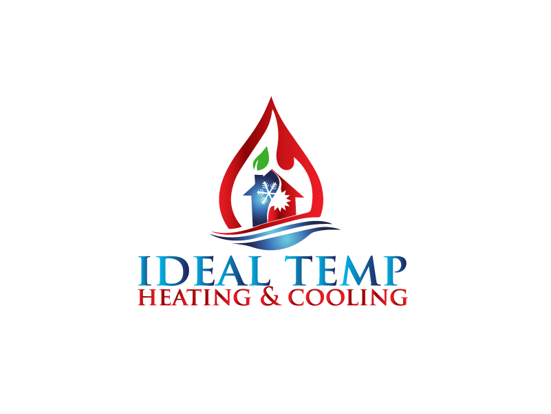 Logo Design by Private User - Entry No. 207 in the Logo Design Contest Captivating Logo Design for Ideal Temp.