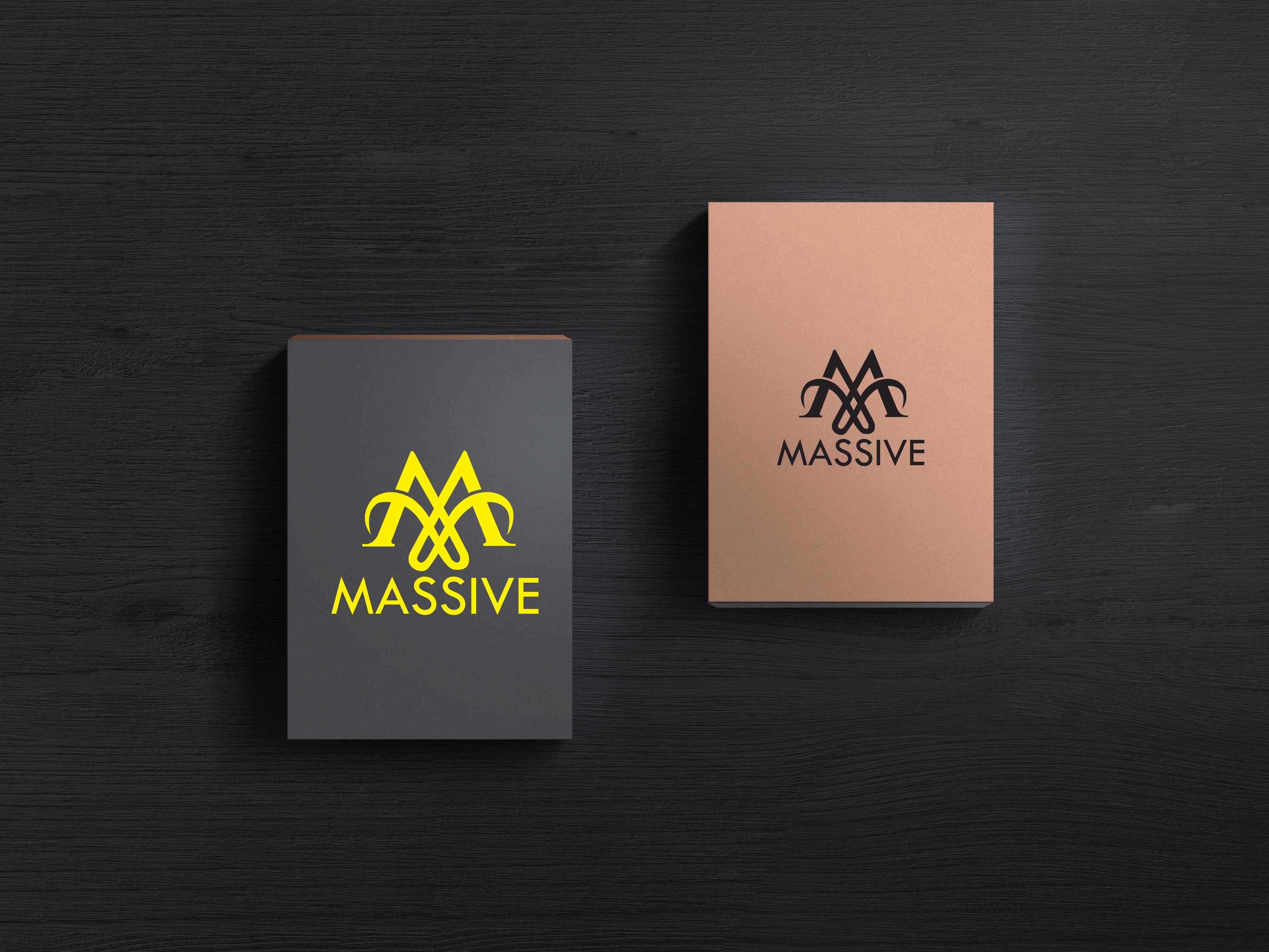 Logo Design by Private User - Entry No. 445 in the Logo Design Contest MASSIVE LOGO.