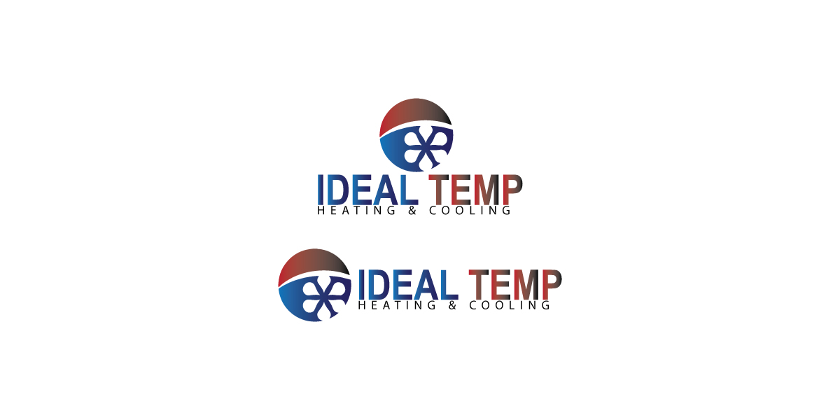 Logo Design by Private User - Entry No. 212 in the Logo Design Contest Captivating Logo Design for Ideal Temp.