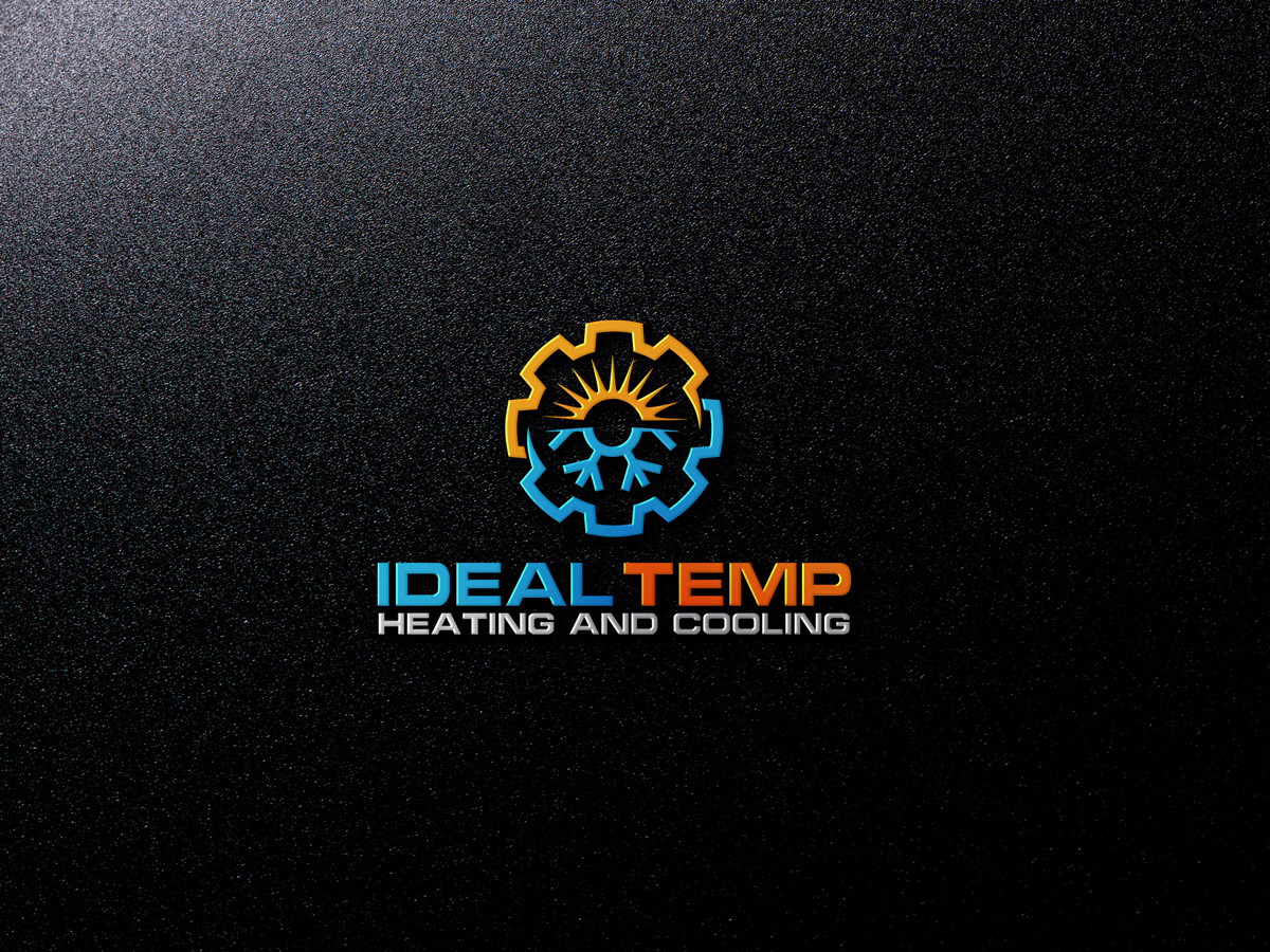 Logo Design by Private User - Entry No. 217 in the Logo Design Contest Captivating Logo Design for Ideal Temp.