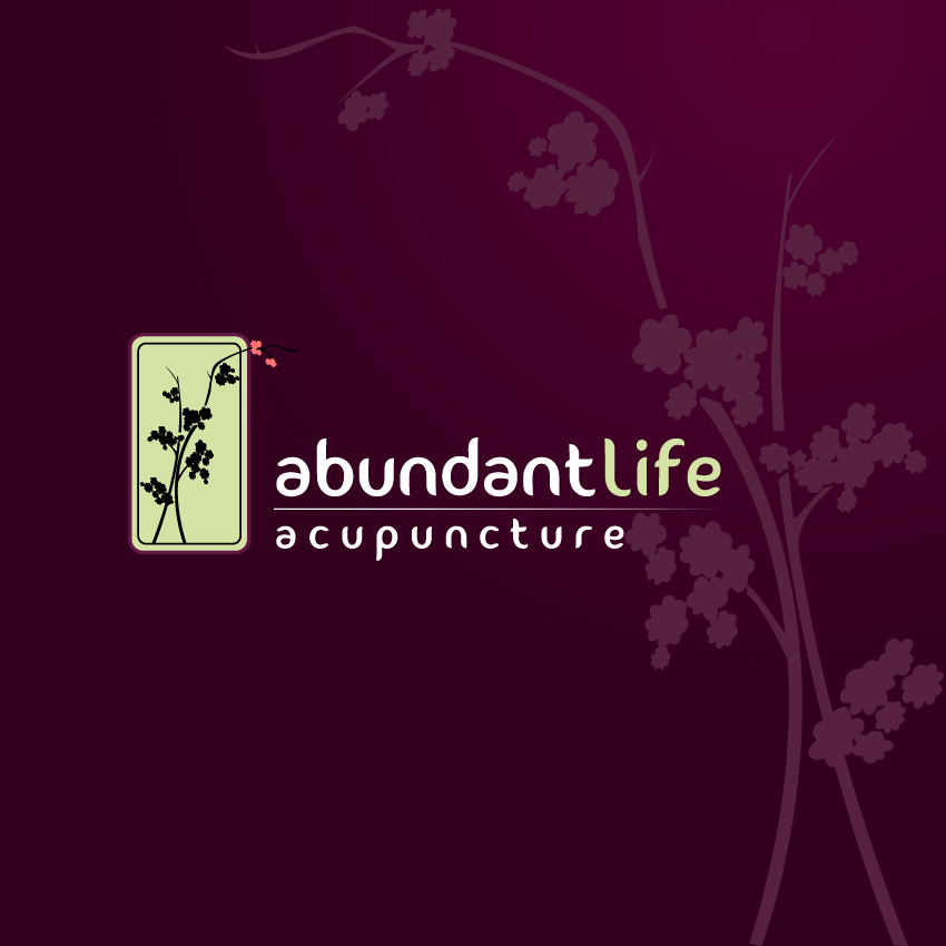 Logo Design by trav - Entry No. 143 in the Logo Design Contest abundant life acupuncture.