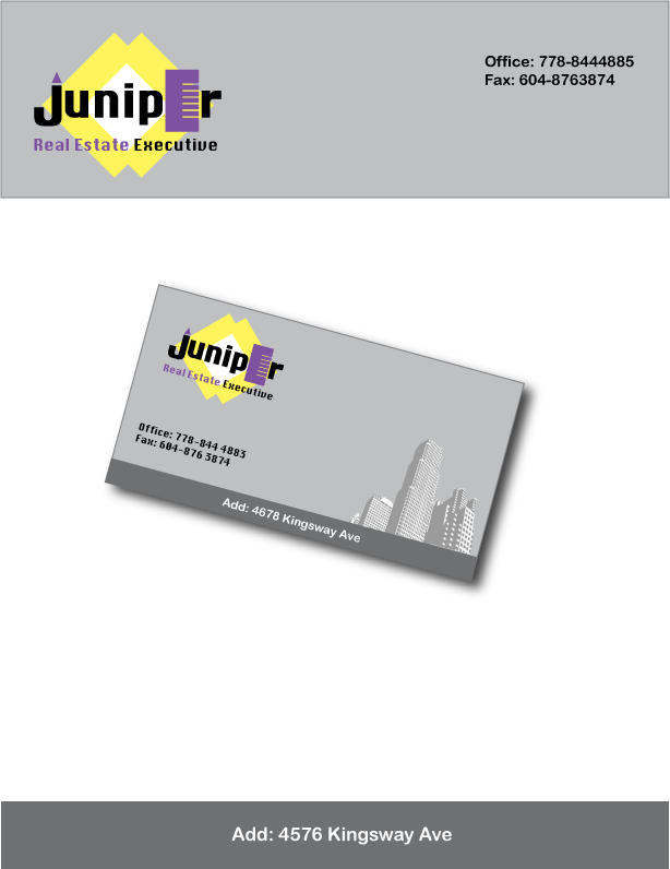 Logo Design by Farnoush Rezaei - Entry No. 28 in the Logo Design Contest Juniper.