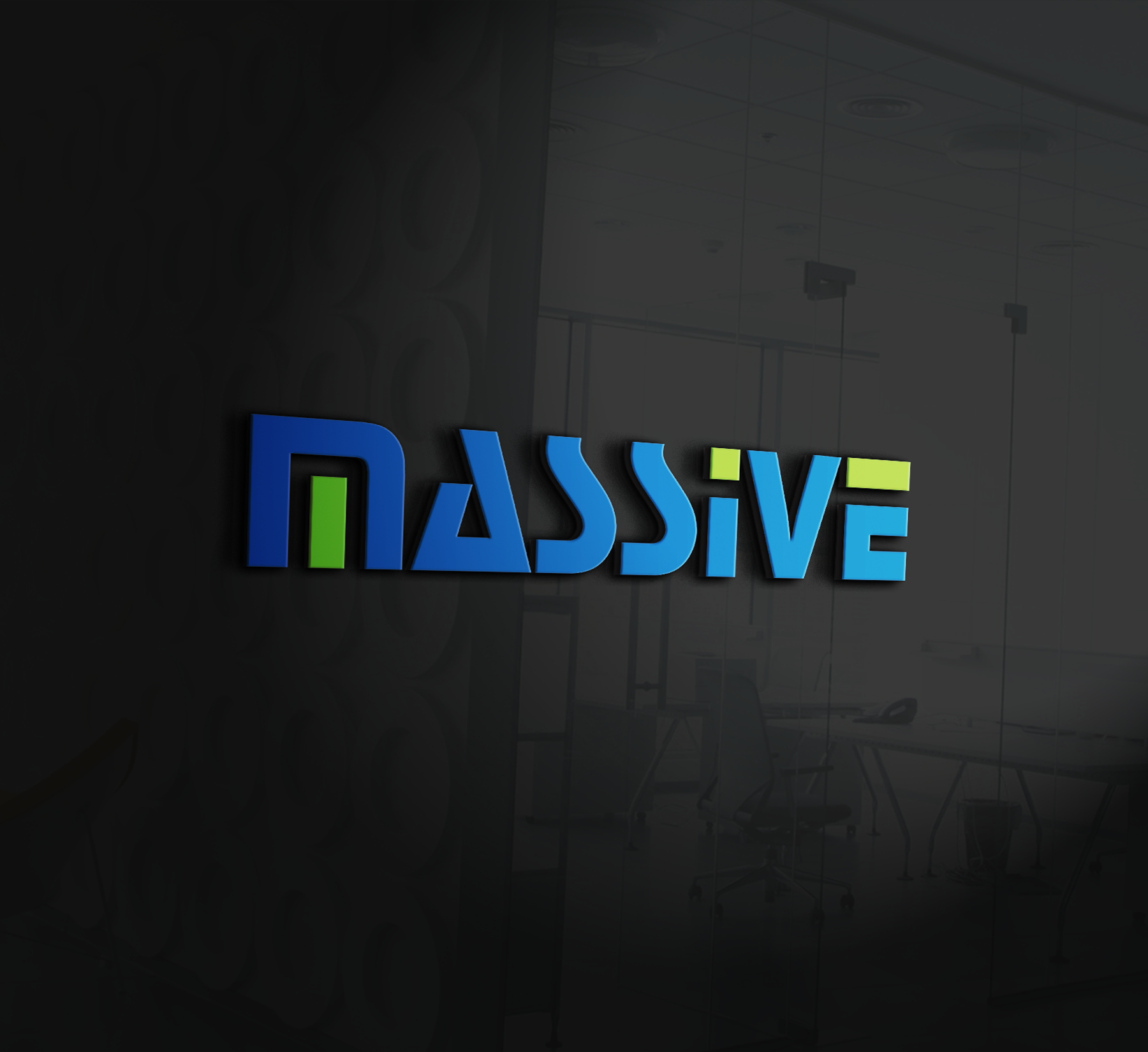 Logo Design by Nazmul Islam - Entry No. 484 in the Logo Design Contest MASSIVE LOGO.