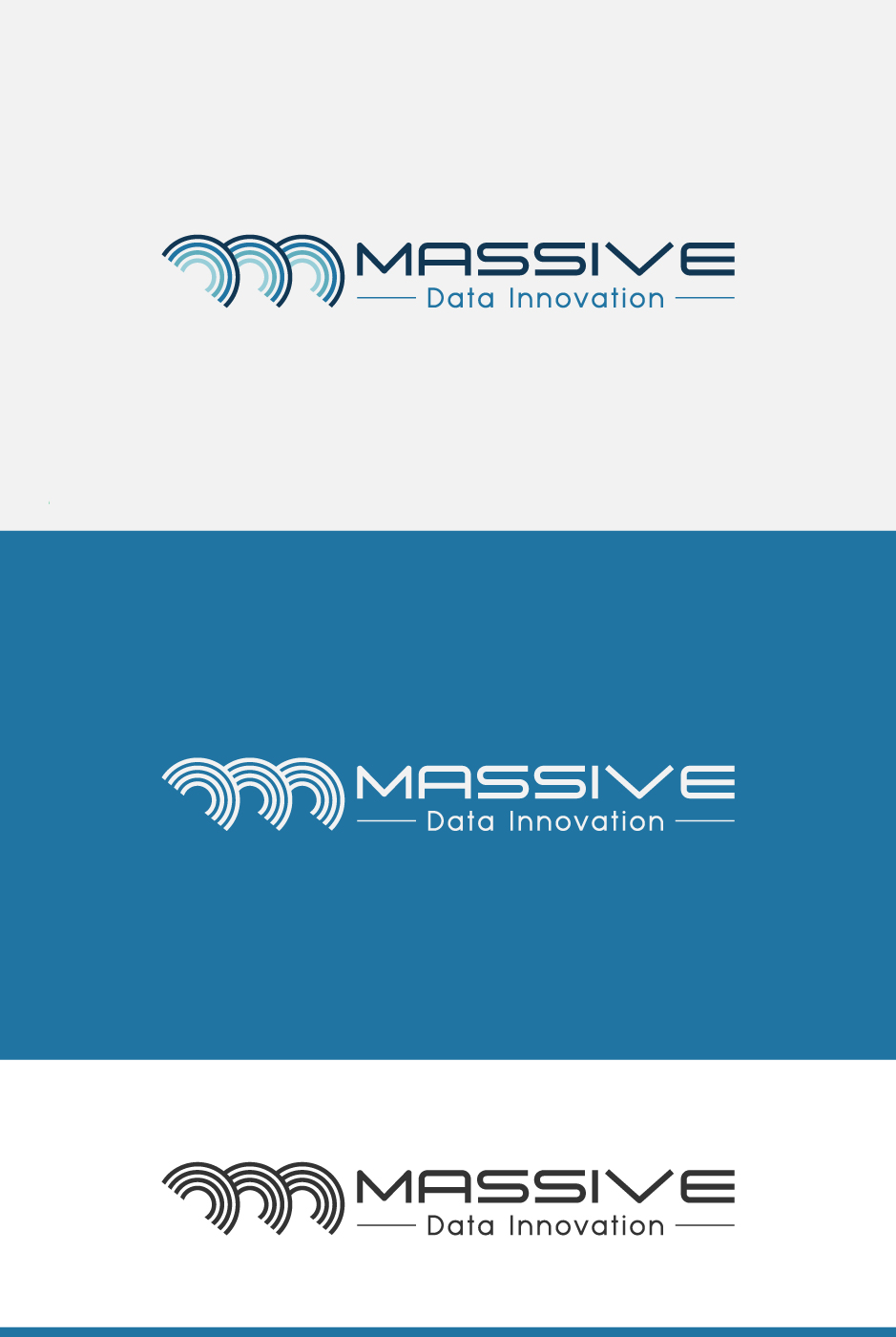 Logo Design by Sami Baig - Entry No. 494 in the Logo Design Contest MASSIVE LOGO.