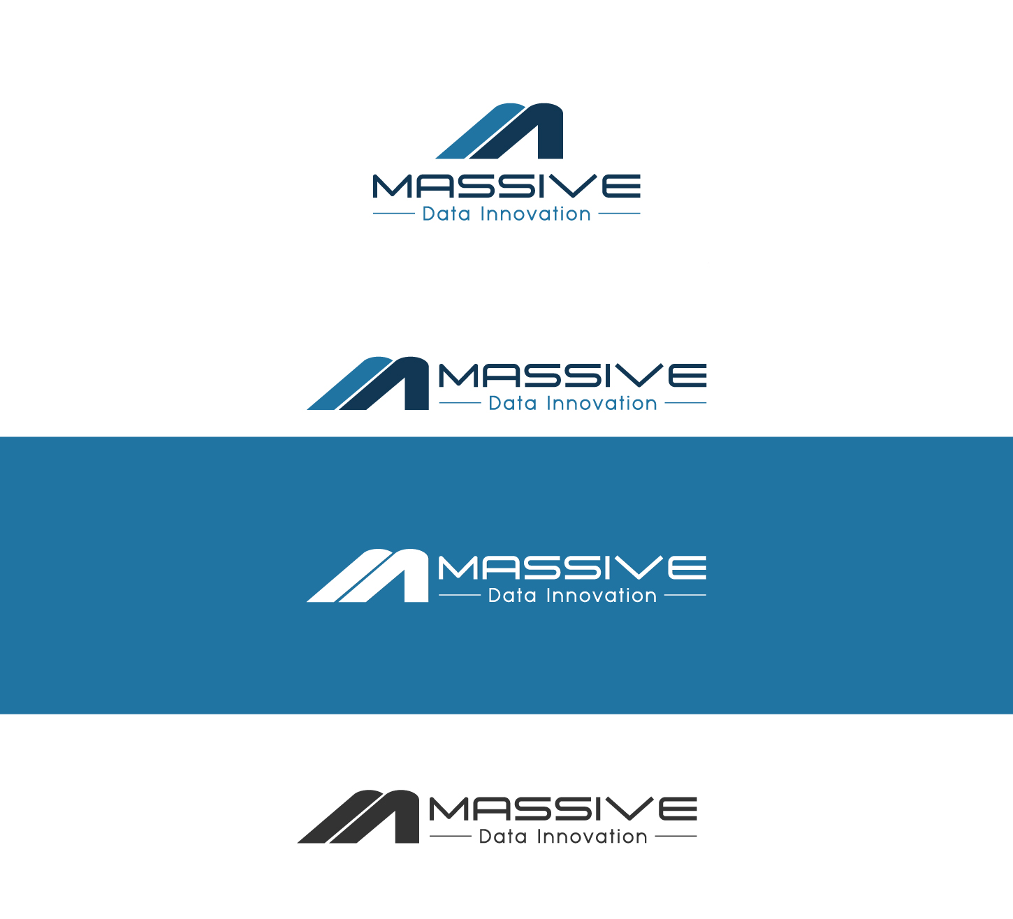 Logo Design by Sami Baig - Entry No. 502 in the Logo Design Contest MASSIVE LOGO.