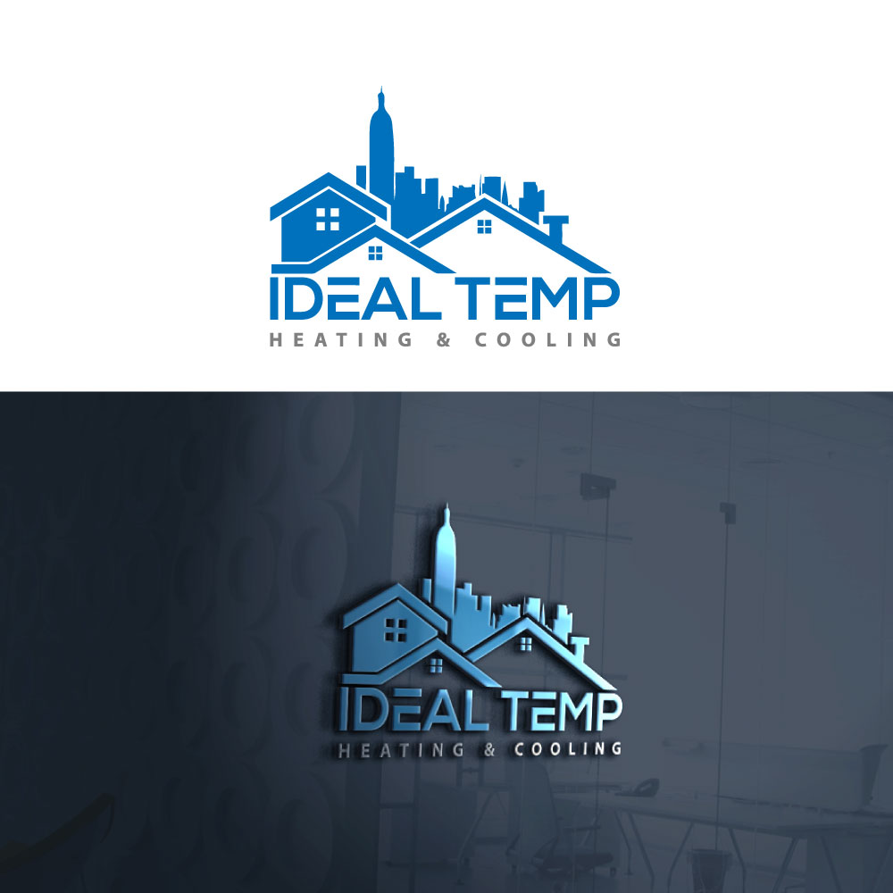 Logo Design by Private User - Entry No. 222 in the Logo Design Contest Captivating Logo Design for Ideal Temp.