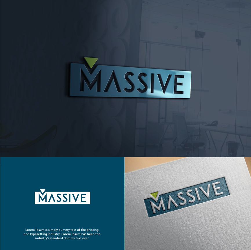 Logo Design by Luntik - Entry No. 507 in the Logo Design Contest MASSIVE LOGO.