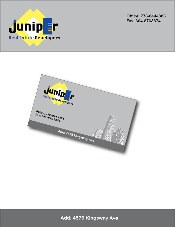 Logo Design by Farnoush Rezaei - Entry No. 30 in the Logo Design Contest Juniper.