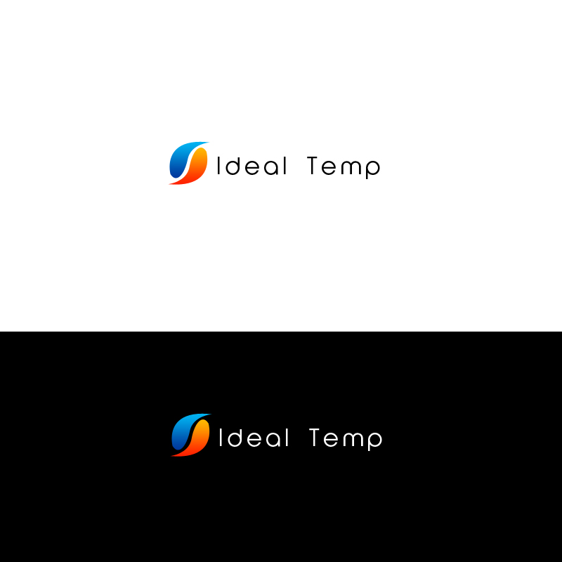 Logo Design by Lonilito Posada - Entry No. 223 in the Logo Design Contest Captivating Logo Design for Ideal Temp.
