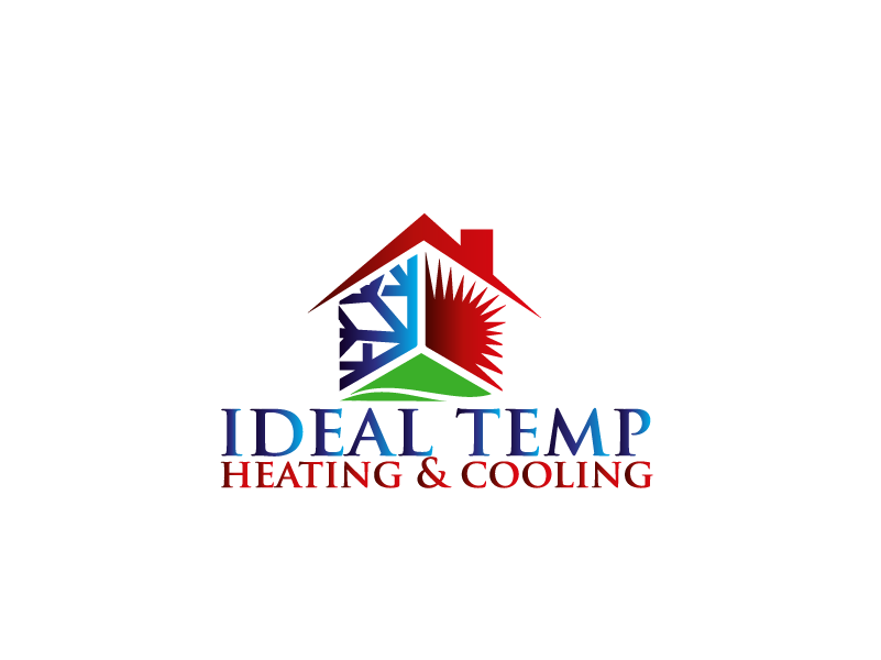 Logo Design by Private User - Entry No. 226 in the Logo Design Contest Captivating Logo Design for Ideal Temp.