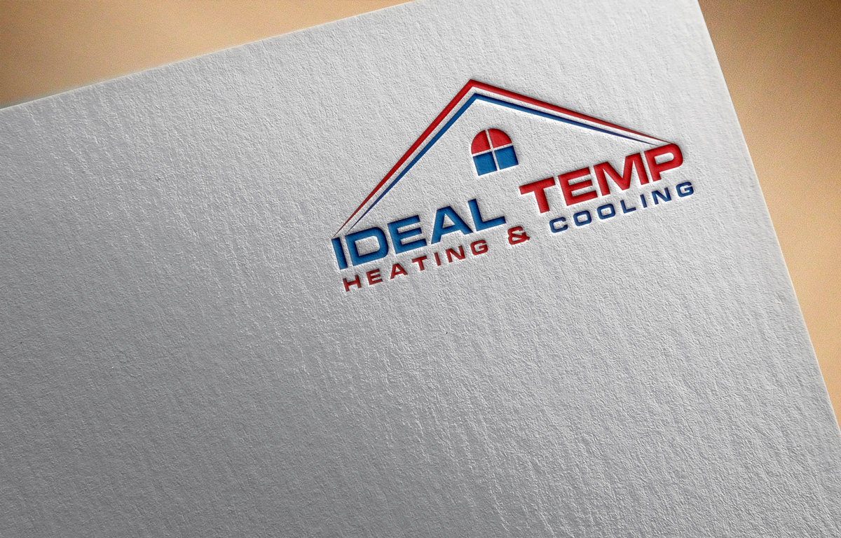 Logo Design by Saiful Islam - Entry No. 235 in the Logo Design Contest Captivating Logo Design for Ideal Temp.
