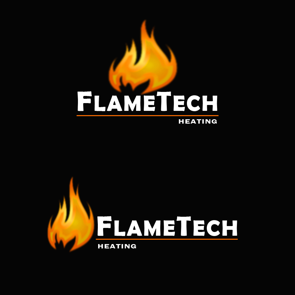 Logo Design by brandukar - Entry No. 2 in the Logo Design Contest FlameTech Heating.