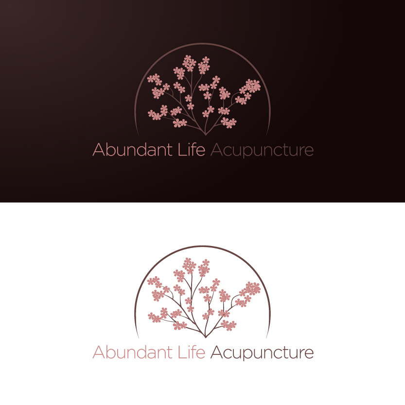 Logo Design by Alpar David - Entry No. 150 in the Logo Design Contest abundant life acupuncture.