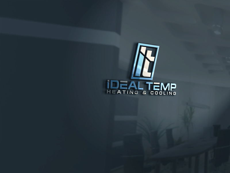 Logo Design by Private User - Entry No. 248 in the Logo Design Contest Captivating Logo Design for Ideal Temp.