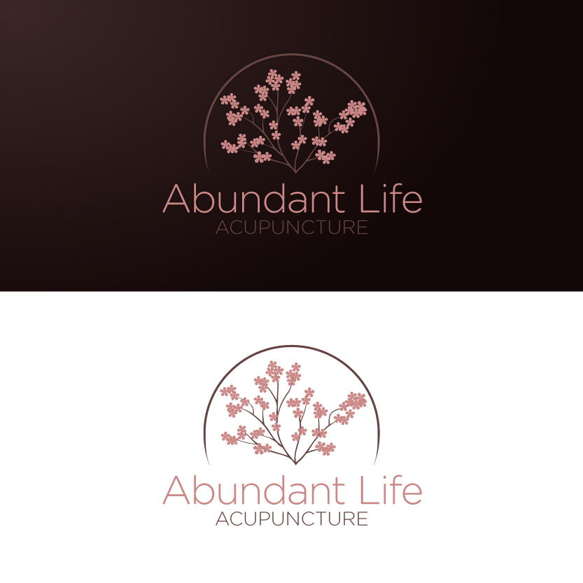 Logo Design by Alpar David - Entry No. 151 in the Logo Design Contest abundant life acupuncture.