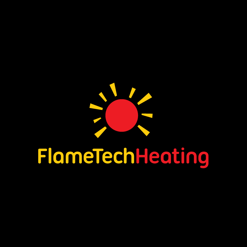 Logo Design by Laith Ibrahim - Entry No. 3 in the Logo Design Contest FlameTech Heating.